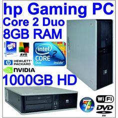 FAST POWERFUL HP GAMING PC,8GB RAM 1000GB HDD WINDOWS 7 PRO 64bit,WIRELESS on eBid United Kingdom £250.00