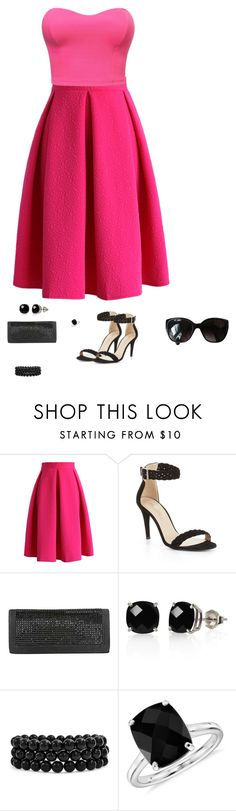 """sassy girl"" by abuffaloe on Polyvore featuring Chicwish, BCBGMAXAZRIA, Belk & Co., Bling Jewelry, Blue Nile and Chanel"