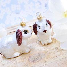 cute bunny ornament
