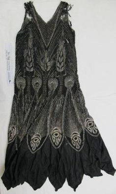 1920's beaded evening dress by Dusty_Modzel