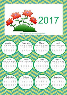 Novos Calendários 2017
