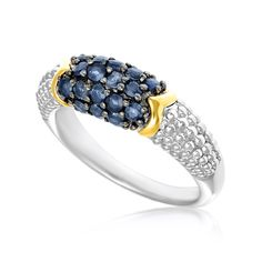 sterling-silver-stackable-expressions-polished-blue-enameled-ring