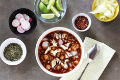 RedPozole1toppings