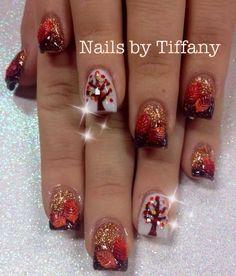 Fall fade acrylic nails nails pinterest acrylics autumn fall fade acrylic nails nails pinterest acrylics autumn nails and makeup prinsesfo Choice Image