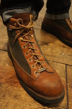 Boots: Danner Light cedar rainbow, to export to Japan only ...