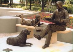 """""""The Sunday Paper"""", Kleman Plaza, Tallahassee, Florida. By Sandy Proctor."""