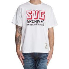 Savage Archives print tee is Japanese urban cool by Neighbourhood. | £57.40