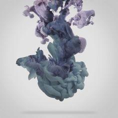 ink drop in water - 디지털 아트 · 파인아트 · 포토그래피, 디지털 아트, 파인아트, 포토그래피, 디지털 아트, 포토그래피