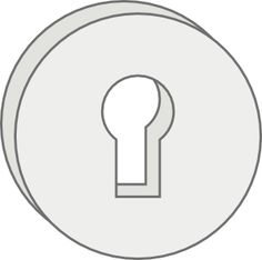 free vector Key Lock Hole clip art