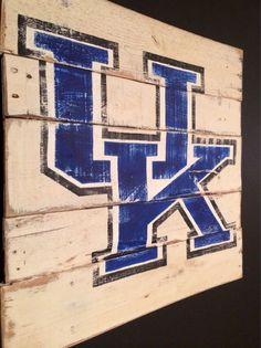 University of Kentucky Wildcats Sign / Wall by PalletsandPaint