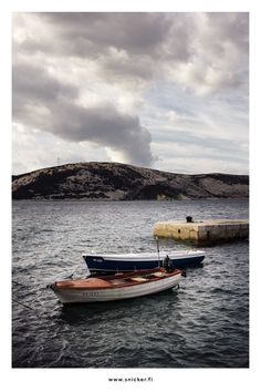 Photo: Jussi Snicker Croatia, Landscape Photography, Boat, Photos, Dinghy, Pictures, Scenery Photography, Landscape Photos, Boats