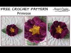 Maggie's Crochet · Primrose Flower