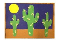 Cactus Craft  http://www.busybeekidscrafts.com/Cactus-Collage.html