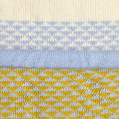 Triangles - machine knitting