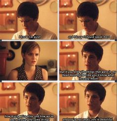 The Perks of Being a Wallflower   Charlie   Sam   Love the book & movie! <3