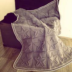 Bobble star blanket (met patroon!)