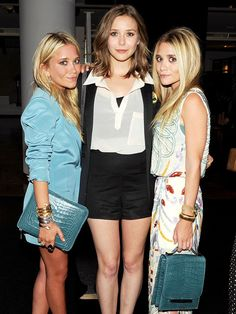 Mary Kate, Ashley, & Elizabeth Olsen