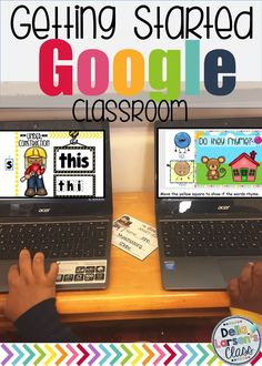 How to get started on Google Classroom in kindergarten.