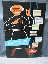 DDR Reklame-Schild 50/60er Jahre Drogerie - KABECO Arznei-Perlen Baldrian Enzian