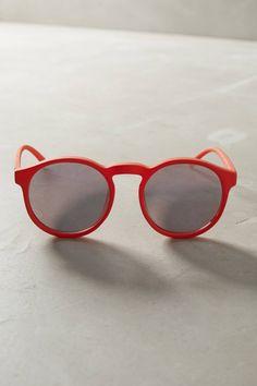 Le Specs Cubanos Mirrored Sunglasses