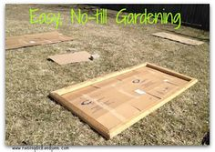 Raising Dick and Jane: Easy Spring Gardening {Using the Lasagna Garden Method}