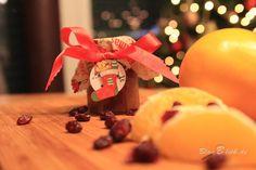 Orangen-Cranberry-Marmelade #KnuspernuntermWeihnachtsbaum