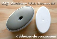 Delicious Obsessions: DIY Deodorant with coconut oil, rosemary, and lemongrass