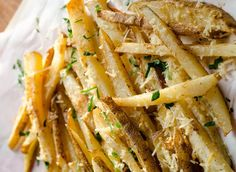 Easy recipe of New Orleans fries without fryer Actifry, Snack Bar, Bar Food, Potato Recipes, Savoury Recipes, Finger Foods, Apple Pie, Side Dishes, Easy Meals