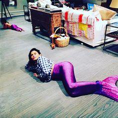 Jenna Dewan-Tatum and Everly