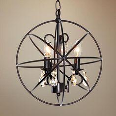 "Maxim Orbit 12"" Wide 3-Light Oil Rubbed Bronze Mini Pendant - #5V726 | www.lampsplus.com"