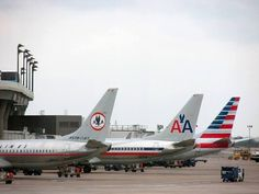 Past and present American Airlines tails. Photo: Brent Jones.
