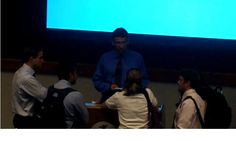 Q & A at Thunderbird - the students who stuck around afterward!