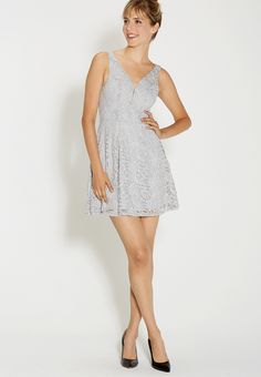lace dress with spar