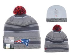 NFL NEW ENGLAND PATRIOTS BEANIES Fashion Knitted Cap Winter Hats Gray New Era 380|only US$8.90