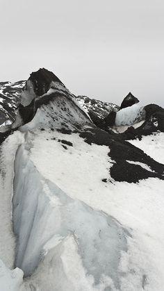 Tumblr...Myrdaisjokull Glacier, Iceland by Mark Wason