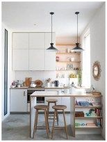 FIND OUT: Stunning Small Kitchen Interior Design Ideas Absolutely Perfect! Kitchen – home accessories Studio Kitchen, Home Decor Kitchen, Home Kitchens, Kitchen Dining, Kitchen Ideas, Small Kitchen Bar, Studio Apartment Kitchen, Modern Small Kitchen Design, Small Kitchen Inspiration