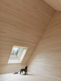 Haus am Moor is a minimalist house located in Krumbach, Austria, designed by Bernardo Bader Architects. Within the private forest of Schwarzenberg, the wood was selected, felled, cut, and installed. An overall of 60 spruces, firs and elms were used for construction panels, doors, floor structure and floor boards. (10)
