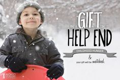 Help me support @No Kid Hungry - Share Our Strength during the Holiday Giveathon. Together we have raised more than $ 13,000 and we'd love to make it to $ 15,000 before the night is over. Your donations will be matched dollar for dollar and every $ 1 = 10 meals for a child that needs them. Think of the difference you could make tonight. Thank You!