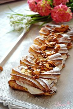 Lussi`s World of Artcraft: Десерти / Desserts Bulgarian Recipes, Bulgarian Food, Eclairs, Cake Recipes, Pastries, Ethnic Recipes, Desserts, Butter, Dessert Ideas