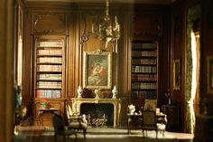 Chicago Institute of Art - miniature rooms, by Nguyet.Vuong, via Flickr