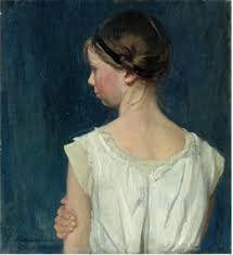 William Nicholson, Ruffle Blouse, Lace, Women, Father, British, Profile, Paintings, Google Search