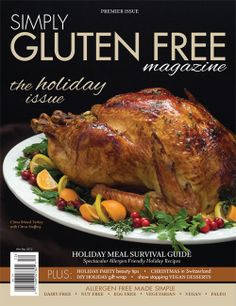 Very Excited for this to hit my local book store!   Simply Gluten Free Magazine #glutenfree