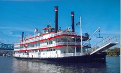BB Riverboats..cruising on the Ohio River