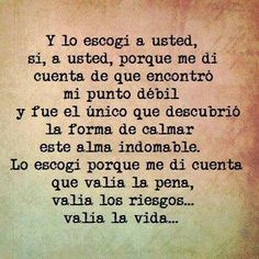 Si, a usted!