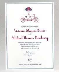 Cute bicycle invites!