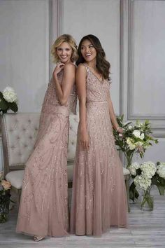 Dusty Pink Bridesmaid Dresses, Wedding Dresses, Wedding Ideas, Wedding Colors, Wedding Venues, Wedding Photos, Wedding Decorations, Blue And Blush Wedding, Party Crop Tops