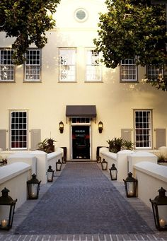 Hout Bay Manor - The Hout Bay Manor is renowned as one of Cape Town's most graceful landmarks. It offers 19 individually designed en-suite bedrooms and a sophisticated fine dining restaurant called Pure. South Afrika, Cape Dutch, Dutch Colonial, Cape Town South Africa, Bedroom With Ensuite, Beautiful Hotels, Weekend Getaways, Luxury Travel, Fine Dining