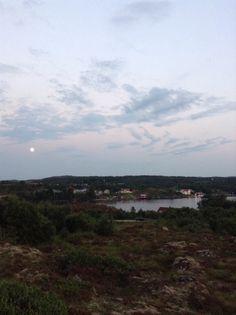Dolmøya 12 juli kl.00.04 2014 Norway, Celestial, Mountains, Sunset, Nature, Travel, Outdoor, Outdoors, Naturaleza