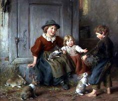 Feeding The Rabbits 5