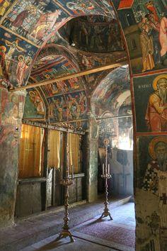 Cyprus, Agios Ioannis Lampadistis monastery
